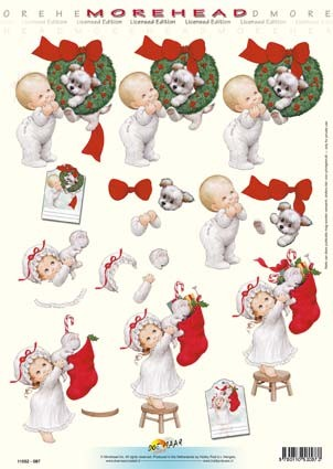 Morehead: X-mas; boy & girl