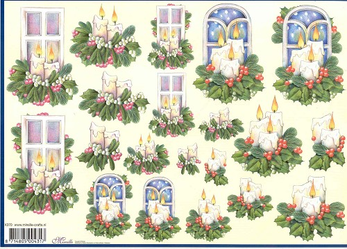 Mireille: X-mas; Window & candle