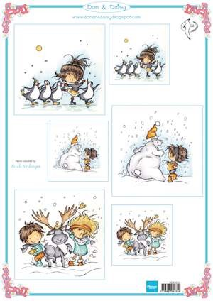 MD: Don & Daisy; Swinging in the snow