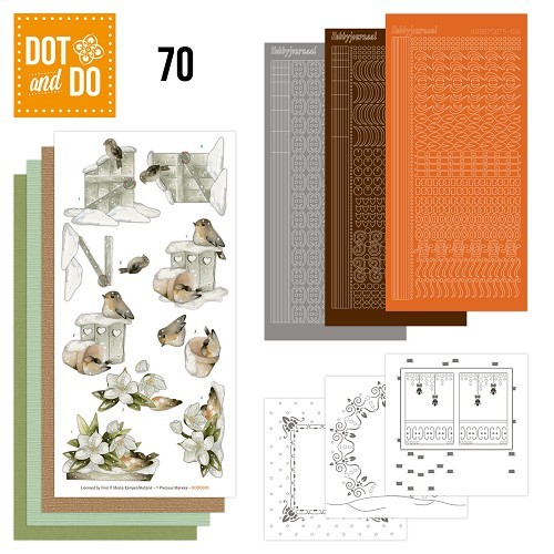 Dot&Do 70: Snow Animals