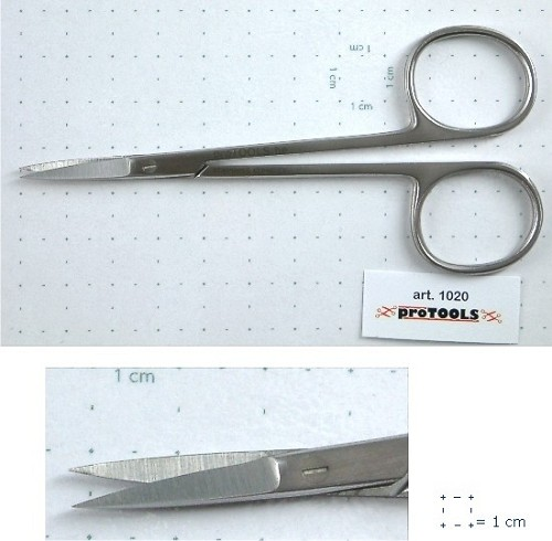 Protools:   Fine Scissors Iris - sharp/sharp - 11 cm