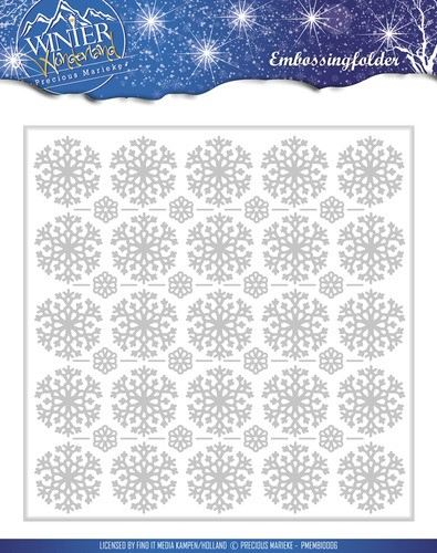 Precious Marieke - Winter Wonderland - Embossing Folder
