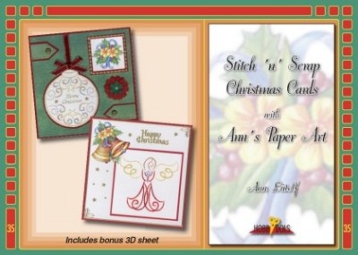 Hobbydol 35: Stitch `n` Scrap Christmas Cards with Ann`s Paper Art