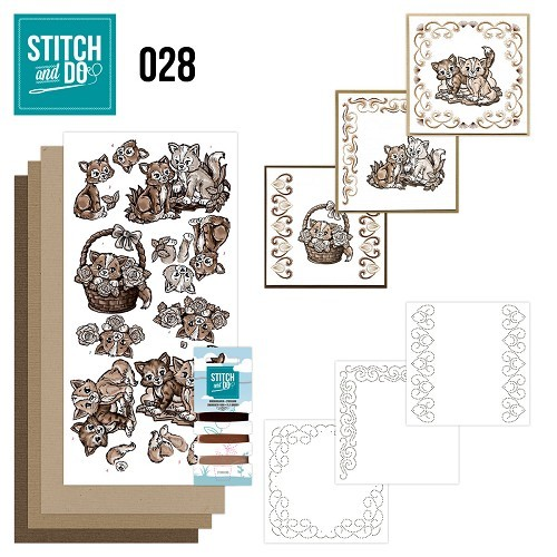 Stitch & Do 28: Brown Cats