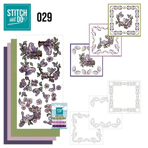 Stitch & Do 29: Birds