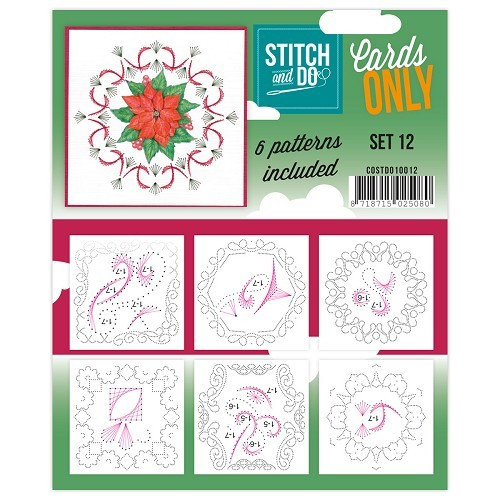 Stitch & Do: Cards Only; set 12