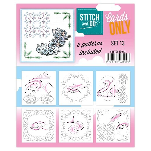 Stitch & Do: Cards Only; set 13