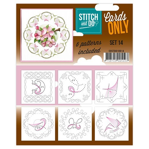 Stitch & Do: Cards Only; set 14