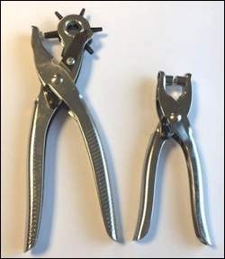 H&C: Leather Hole puncher and Eyelet Pliers set