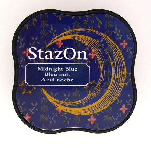 Stazon Midi: Midnight Blue