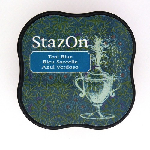 Stazon Midi: Teal Blue