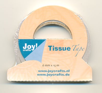 Joy Tissuetape: 15 mtr x 6mm