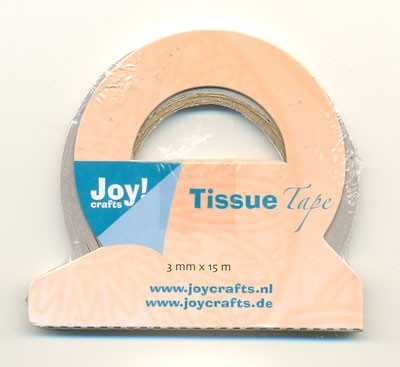 Joy Tissue tape: 15 mtr x 3 mm