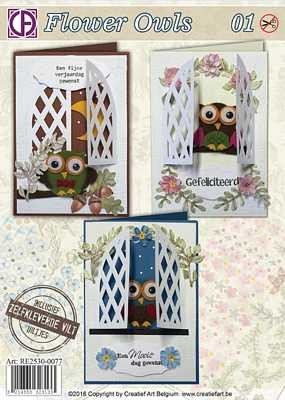 Pakket: Flower Owls 1