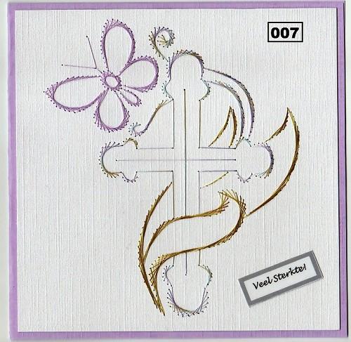 Dalara Creative: Stitching Pattern 007