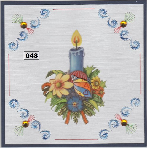 Dalara Creative: Stitching Pattern 048