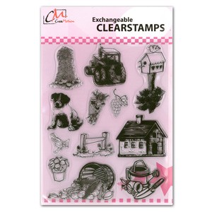CM: Clear Stamps; Farm 1