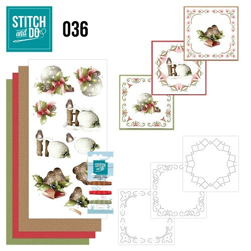 Stitch and Do 36 - Kerstfiguren