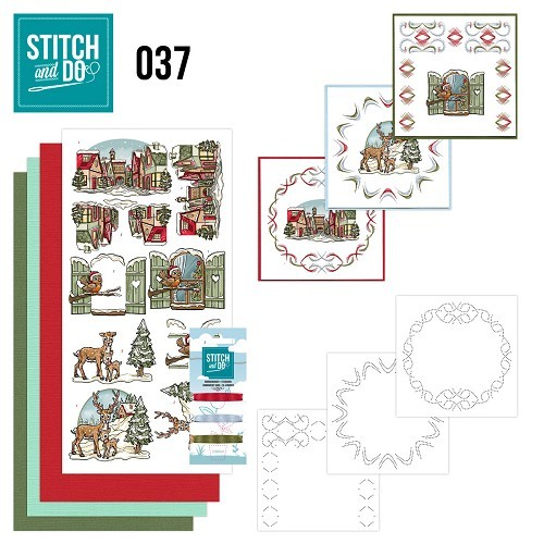 Stitch and Do 37 - Kerstfiguren