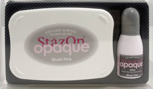 StazOn: Inkpadset; Opaque, Blush Pink