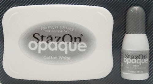 StazOn: Inkpadset; Opaque, Cotton White
