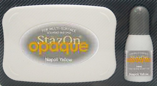 StazOn: Inkpadset; Opaque, Napoli Yellow