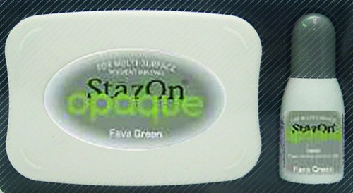 StazOn: Inkpadset; Opaque, Fava Green