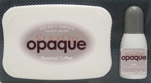 StazOn: Inkpadset; Opaque, Roasted Coffee