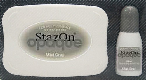 StazOn: Inkpadset; Opaque, Mist Gray