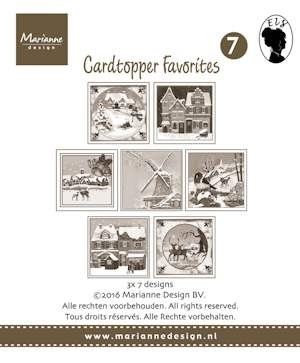 MD: Card Toppers Sepia Fovourites; Els 2