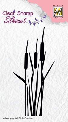 NS: Clearstamp; Silhouet, Bulrushes