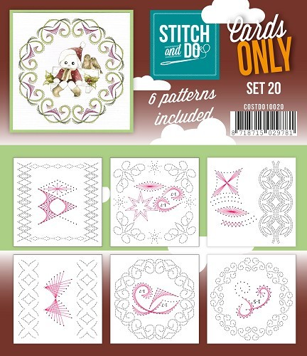 Stitch and Do: Cards Only; serie 20