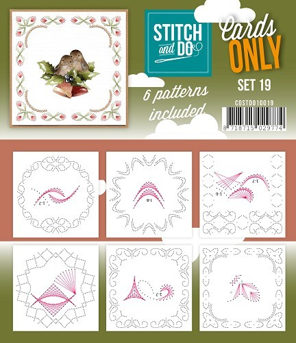 Stitch and Do: Cards Only; serie 19