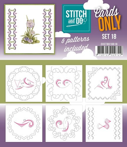 Stitch and Do: Cards Only; serie 18