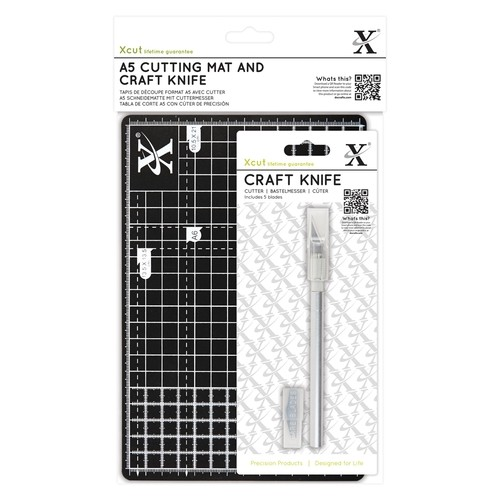 X-Cut: A5 Cutting Mat and Craft Knife Set