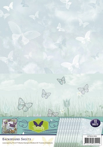 Yvonne Creations: Butterfly; Background