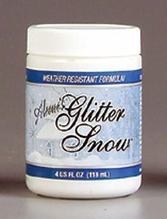 Aleene`s Glitter snow: Weather resistant; 118 ml
