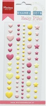 MD: Enamel Dots; Baby Pink