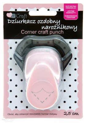 DP Craft: Corner Craft Punch; BILLENPONS