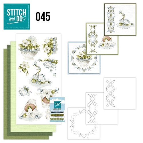Stitch and Do 45 - Winter Flowers