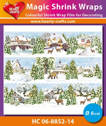 HC: Magic Shrink Wraps; Winter Village