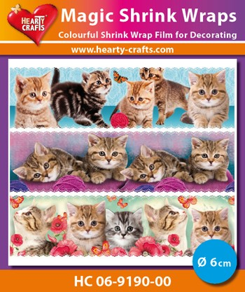 HC: Magic Shrink Wraps; Cats