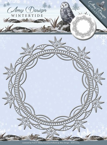 Amy Design - Wintertide - Die - Ice Crystal Frame