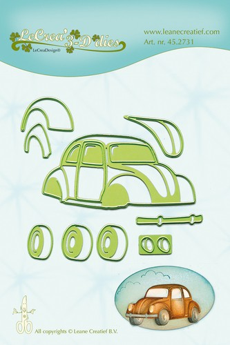 LaCrea: Lea`bilitie; Car Beetle, 80 mm
