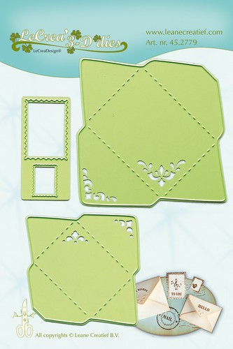 LaCrea: Lea`bilitie; Envelopes 30x40 mm
