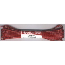 Needloft: Metallic garen; Rood