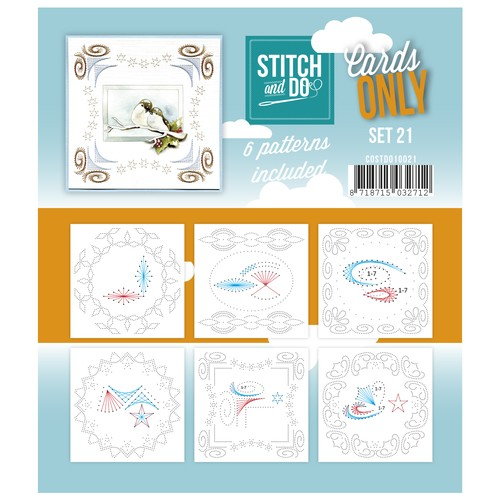 Cards Only: Stitch and Do; set 21
