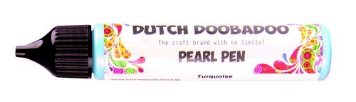 DDBD: Pearl pen; 28 ml, TURKOOIS