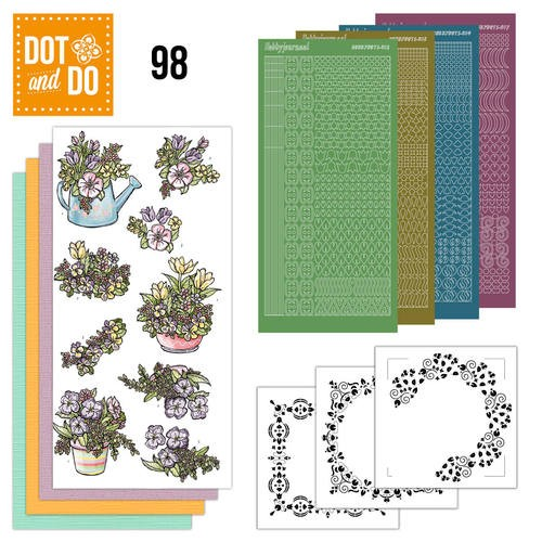 Dot and Do 98: Voorjaarsboeketjes