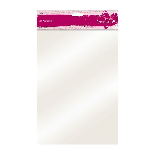 Papermania: 10 x A4 Wax Paper